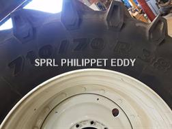 New Holland T7.220 - T7.270 710/70R38 600/65R28
