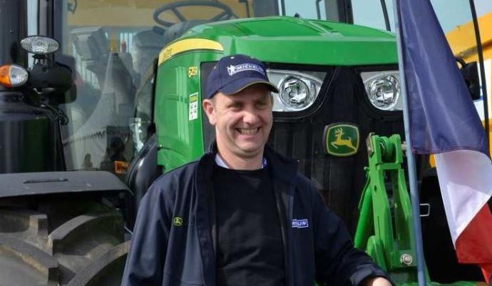 John Deere et Michelin - Un Français élu conducteur européen de tracteurs
