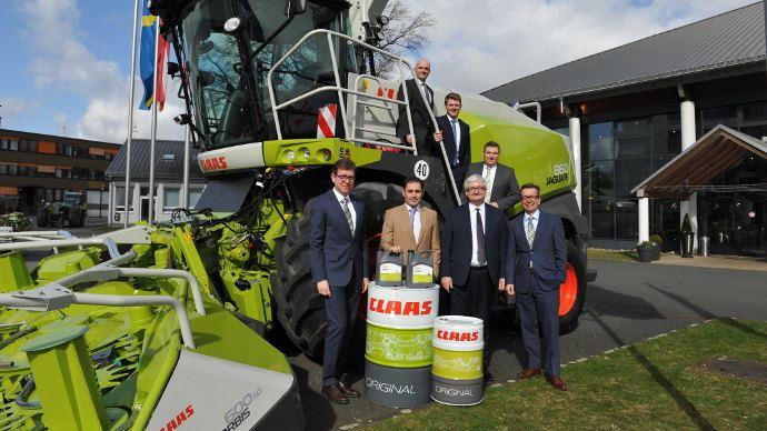 Info firmes - Total Lubrifiants et Claas prolongent leur partenariat jusqu'en 2021