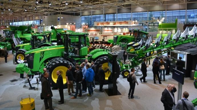 Tracteurs John Deere - Les verts et jaunes font leur show à Hanovre