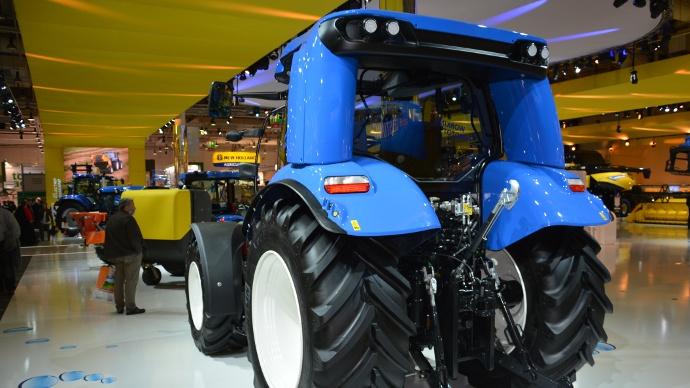New Holland à Agritechnica - Un tracteur au méthane pour une ferme énergétiquement indépendante