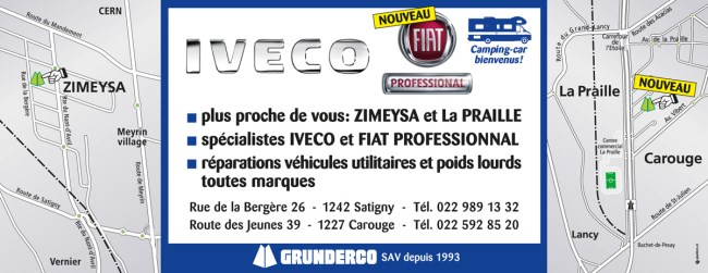 LES AGENCES - IVECO - FIAT PROFESSIONAL BY GRUNDERCO