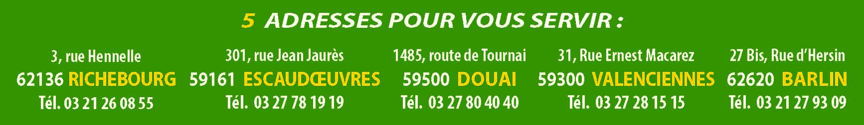 5 adresses Patoux Motoculture