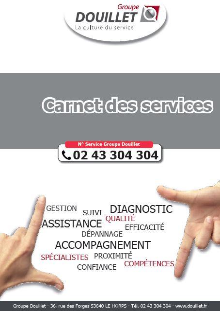 Le carnet des services Douillet