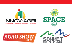 Manifestations agricoles 2016 - Promodis présent sur les salons d'automne !