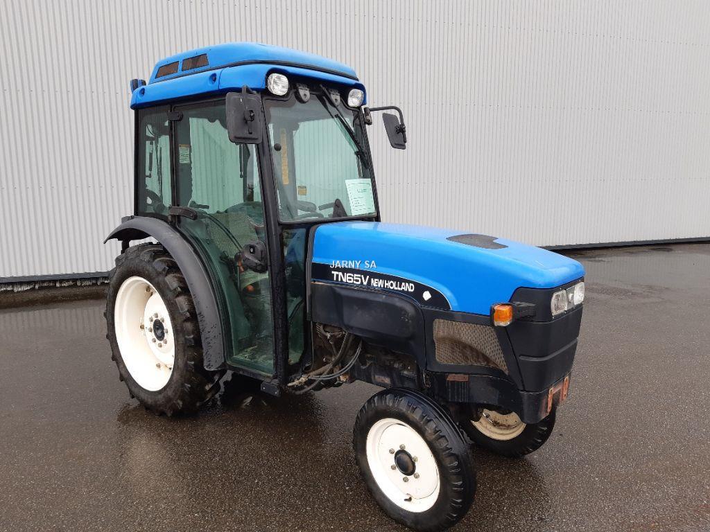 Tracteur vigneron/fruitier New Holland TN 65 V - Groupe Jarny