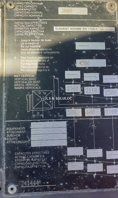 Manitou MSI30D TI