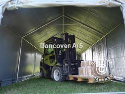 Divers Lagertelt 4x8x2x3,1m PVC Telthal / Storage Shelter