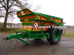 Alasco Sand- & Kieskipper Einachser ODU80