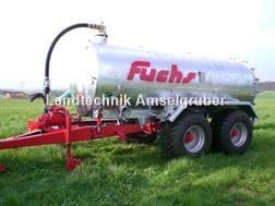 Fuchs Gülle Vakuumfass VKT 10 mit 10600 Liter