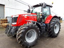 Massey Ferguson 7624 DVT EXCLUSIVE