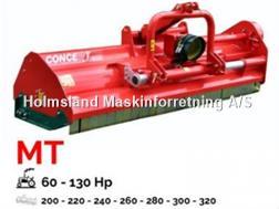 Perrugini MT260 Slagleklipper Bagmonteret m. hydr. Sideforsk