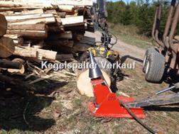Divers Kegelspalter Traktor Modell 800 ccm mit Konsole fü