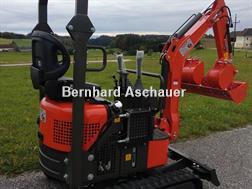Divers Minibagger mit Verstellfahrwerk, Knickarm, TOP
