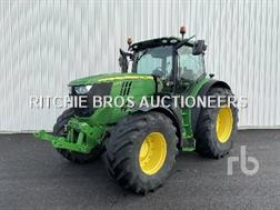 John Deere 6190R 4WD Agricultural Tractor