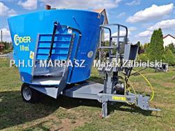 Divers Futtermischwagen 10m3 / Paszowóz