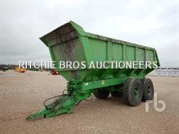 Maupu BMTP24T Remorque Agricole 2 Essieux T/A