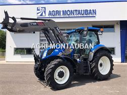 New Holland T 6.155 + CHARGEUR