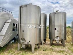 ARSILAC - GD INDUSTRIES - Cuve inox - 105 HL