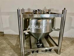 ARSILAC - Conteneur inox - Cylindro-conique - 5,5 HL