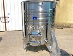 ARSILAC - NEUF - Cuve inox 304 - 23 HL
