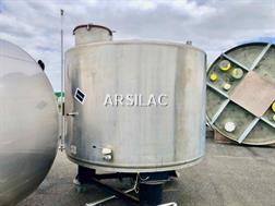 ARSILAC - Cuve inox 316L - 120 HL
