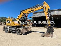 Liebherr A918 COMPACT Mobile excavator