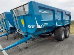 Rolland Remorque benne monocoque agricole ROLLAND ROLLSPEE