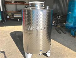 ARSILAC - Cuve inox 316 - Fermée - 10 HL