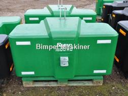 Suer 1600kg kompakt frontvægt - www.suer.dk