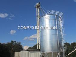 Conpexim Getreide Trichtersilo 176t