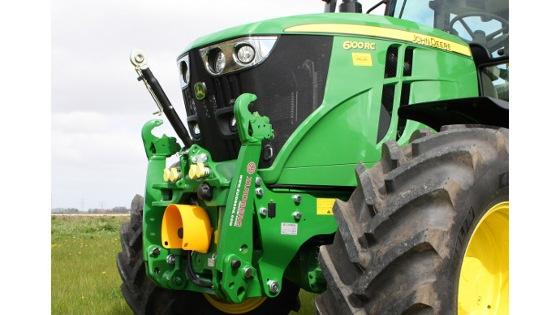 Accessoires - Des relevages avant Zuidberg pour les tracteurs John Deere 6RC