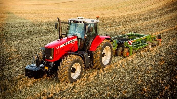 La cote agricole d'occasion tracteur - Massey Ferguson 7495, la variation continue Massey Ferguson