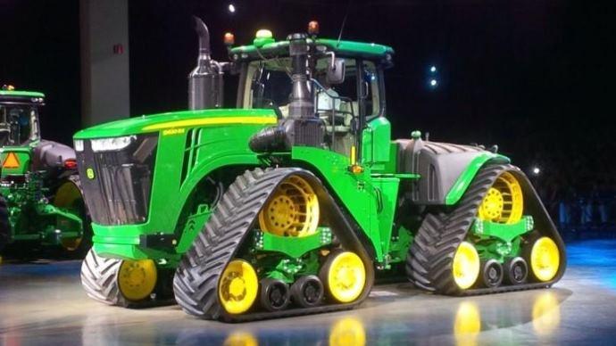 Vu sur le web - Un 9RX vient compléter la gamme de tracteurs John Deere
