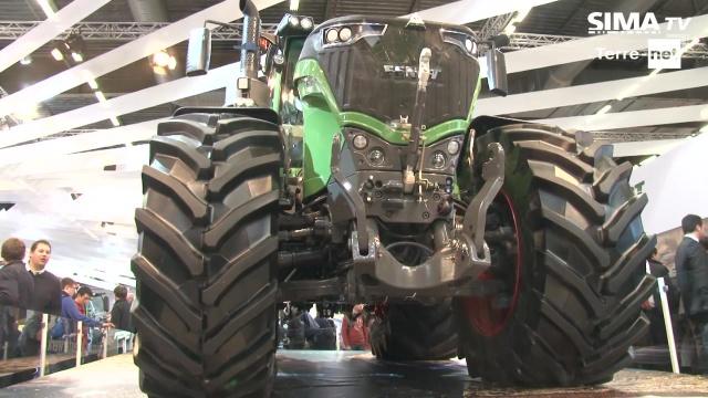 Pour le plaisir des yeux - Du Fendt 1000 Vario au Massey Ferguson 7700, les tracteurs Agco à voir