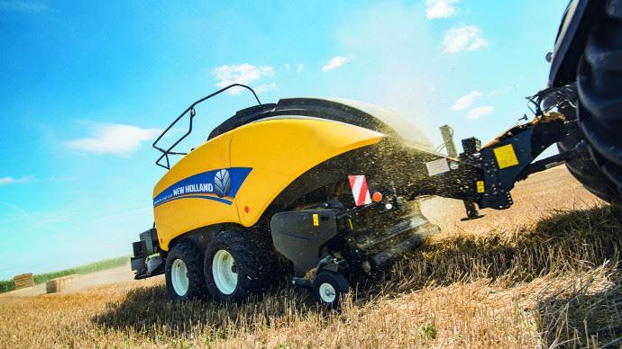 Presse haute densité - New Holland BigBaler 1290 Plus: densité, productivité et fiabilité