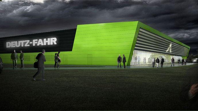 Nouvelle usine de tracteurs - Deutz-Fahr Land et Arena, une double inauguration!