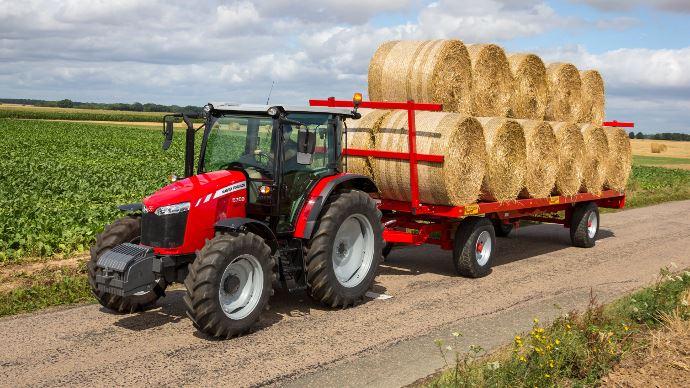 Tracteurs Massey Ferguson - Deux petits nouveaux dans la gamme 5700