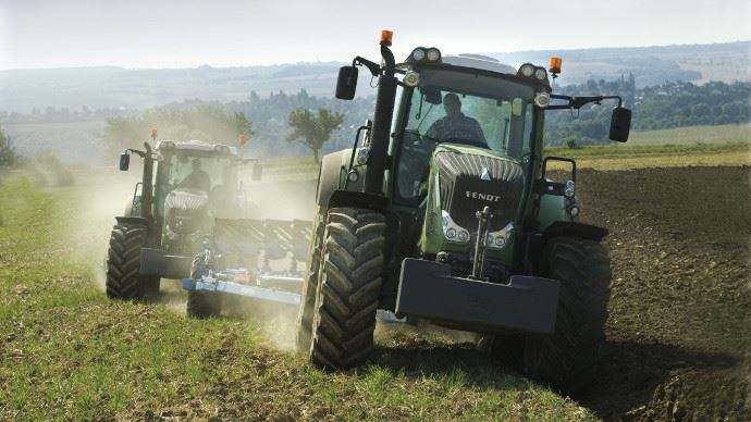 La cote agricole d'occasion tracteur - Fendt 824 Vario, niveau de confort royal!