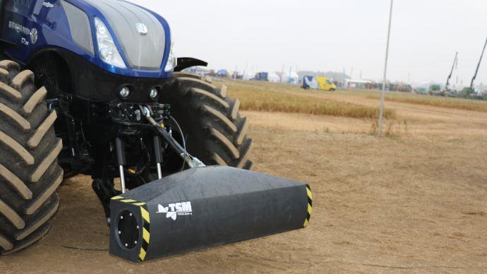 New Holland Topsoil Mapper - Magnétisez votre tracteur pour régler la profondeur de l'outil automatiquement!