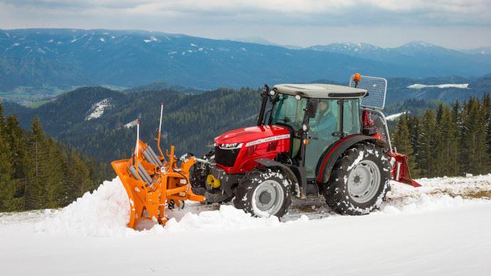 Nouveauté tracteur - MF 3700 AL: le passe-partout de Massey Ferguson n'a pas le vertige!