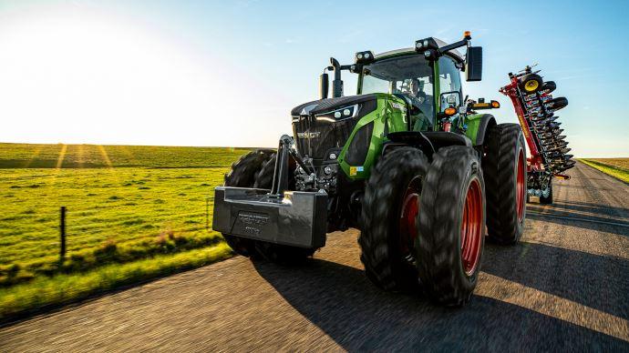 Nouveauté tracteur Fendt - Série 900génération S5: comme un air de petit 1000!