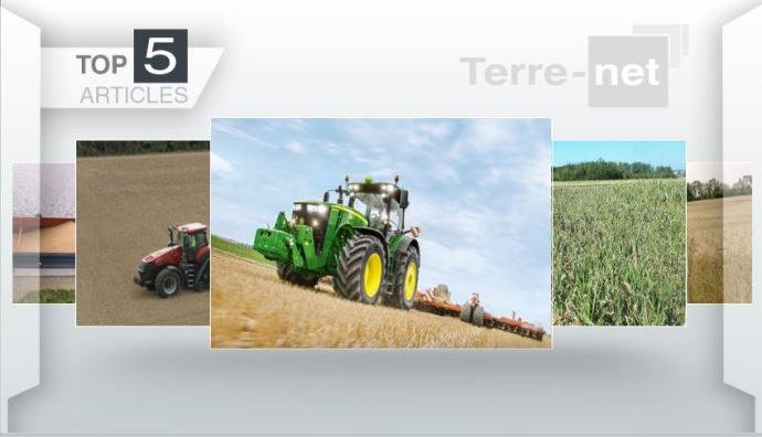 Top articles - Case IH et John Deere: leurs nouveautés tracteurs font la Une