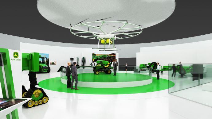 Agriculture du futur - Que seront vos tracteurs dans 10 ans? John Deere répond