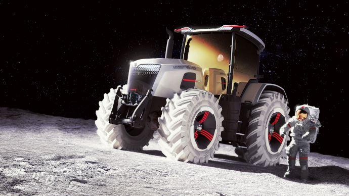 Tracteur concept - À quoi ressemblera le tracteur du futur chez Massey Ferguson?