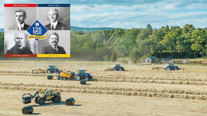 Anniversaire New Holland - La petite entreprise fondée en Pennsylvanie fête ses 125 ans!