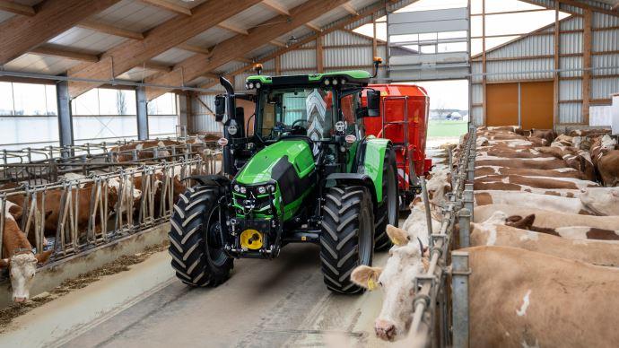 Norme d'émissions polluantes - Les tracteurs Deutz-Fahr de lasérie 5 se conforment au Stage V