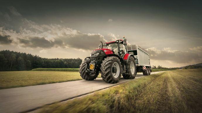 Nouveauté tracteur Case IH - Optum AFS Connect: davantage de confort et de connectivité