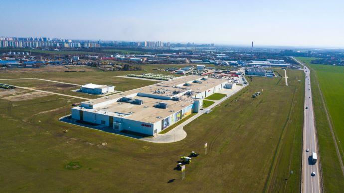 Info firme - Claas étend son usine de Krasnodar pour faire face à la croissance du marché