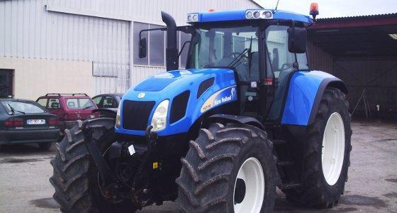La cote agricole d'occasion tracteur - Le TVT 190 signe l'arrivée de la variation continue chez New Holland